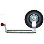 Nokkapyörä 260x85, ilmakumi, peltivanne
